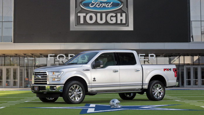 Ford F-150 Dallas Cowboys Edition Profile View