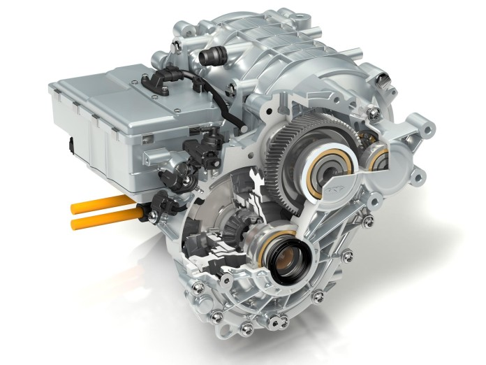 GKN develops fully integrated eAxle