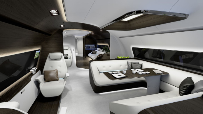 Mercedes luxury boat and aeroplane interiors (12)