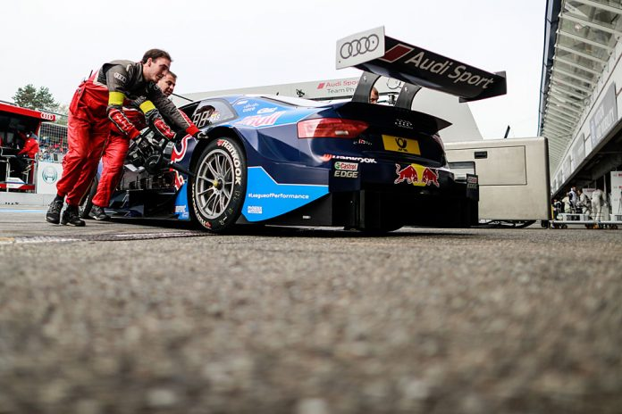 Motorsports: DTM race Hockenheim, Saison 2016 - 9. Event Hockenheimring, GER, #72 René Rast (GER, Audi Sport Team Phoenix, Audi RS5 DTM)