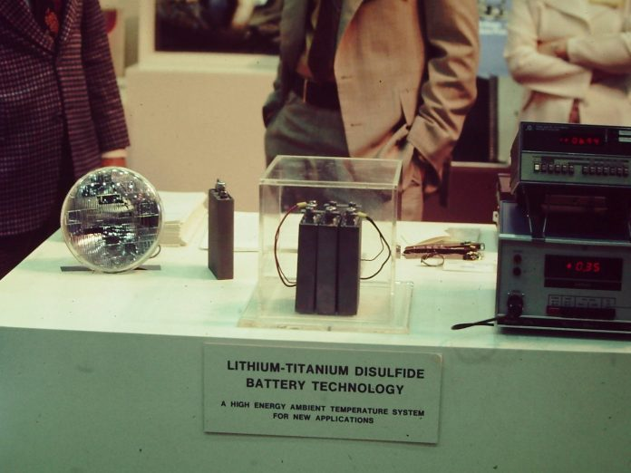 lithium ions battery