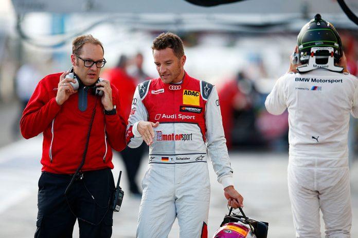 Motorsports: DTM race Budapest 2016, #10 Timo Scheider (GER, Audi Sport Team Phoenix, Audi RS 5 DTM),