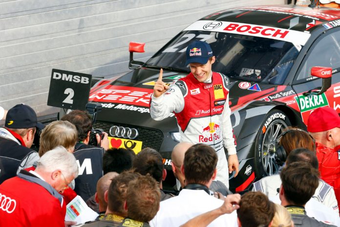 Motorsports: DTM race Budapest 2016, #5 Mattias Ekstroem (SWE, Audi Sport Team Abt Sportsline, Audi RS 5 DTM),