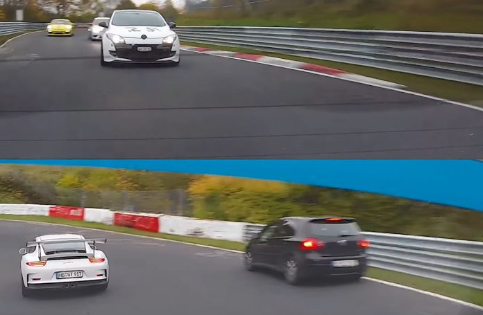911-gt3-rs-vs-cayman-gt4-vs-leon-cupra-vs-megane-rs