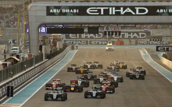 2016 Abu Dhabi Grand Prix, Sunday