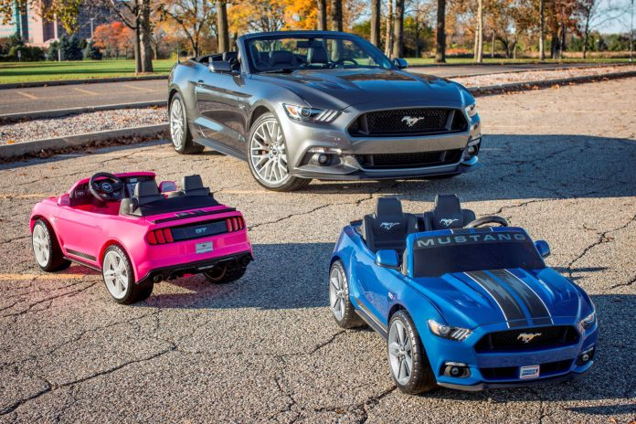 Ford, Fisher-Price Introduce Power Wheels Smart Drive Mustang – Most Advanced Power Wheels Ever