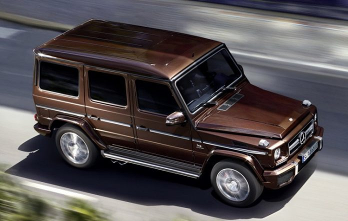 mercedes-benz-g63-amg-brown-side-front