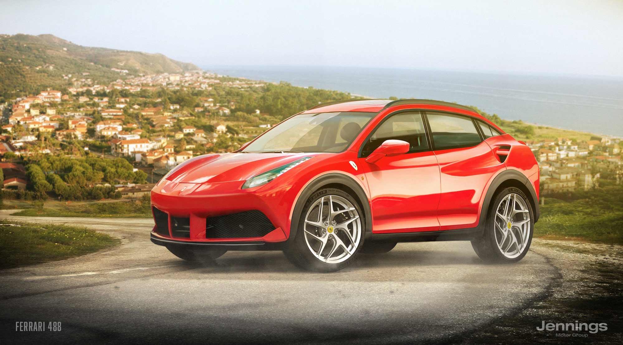 Το SUV της Ferrari στα τέλη του 2019 - Autoblog.gr