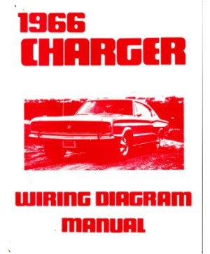 1966 DODGE CHARGER Wiring Diagrams