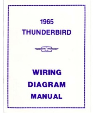1965 FORD THUNDERBIRD Wiring Diagrams