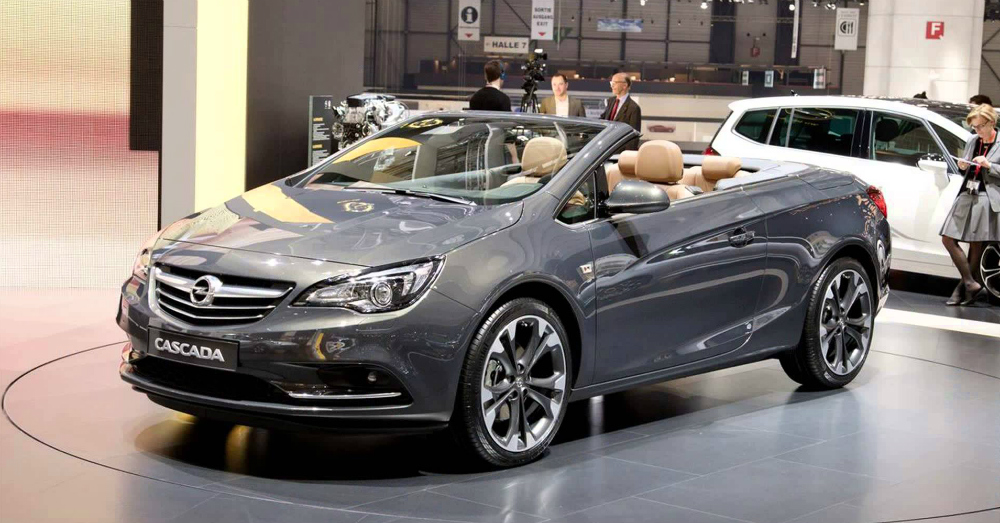 2015 Opel Cascada