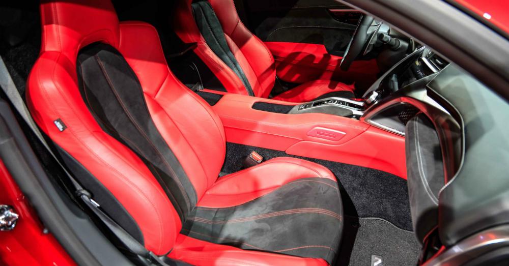 2016 Acura NSX Seats