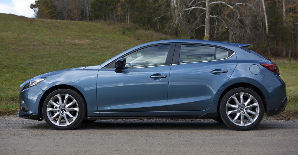 2015 Mazda 3 Blue