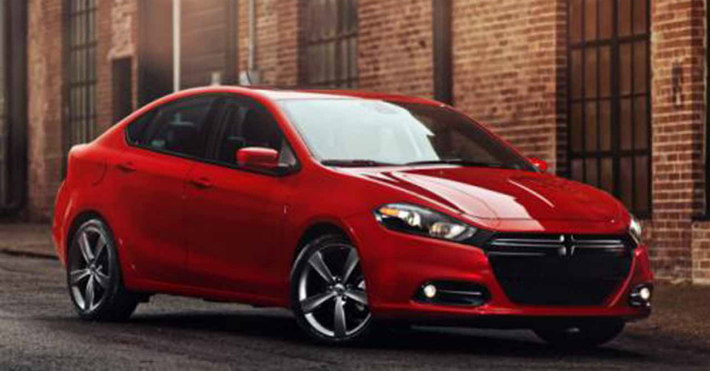 2016 Dodge Dart Brick Building