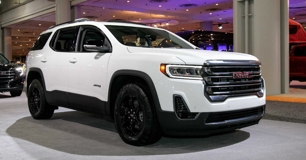 2020 GMC Acadia Offers Several Choices