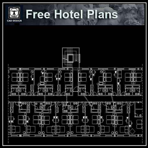 Free Hotel Plans - Autocad Design Pro-Autocad Blocks