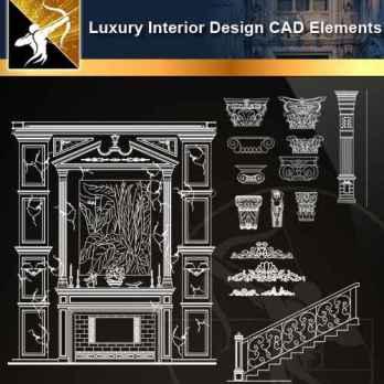 ☆【 Full Interior Design Autocad Blocks Bundle V 2】@All