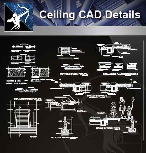 Architecture Cad Details Collectionsflooring Cad Details V2 Autocad Design Pro Autocad Blocksdrawings Download