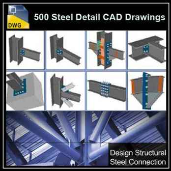 【Architecture CAD Details Collections】Over 500+ various type o