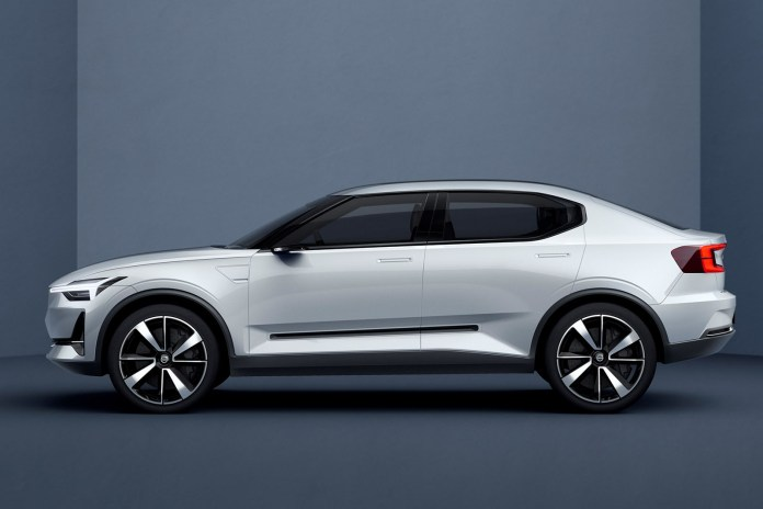 first electric volvo to be an all-new hatchback due in 2019 | autocar
