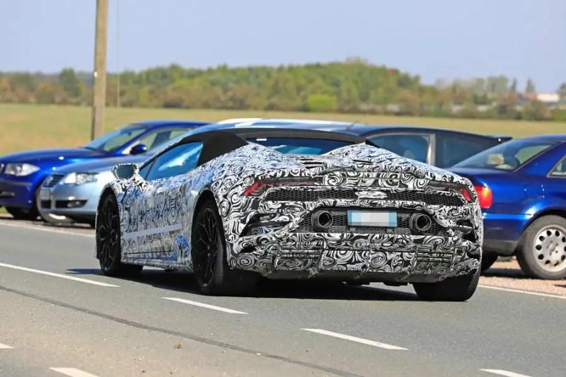 Lamborghini Huracan 2019 Facelift To Bring Power Boost Website Of