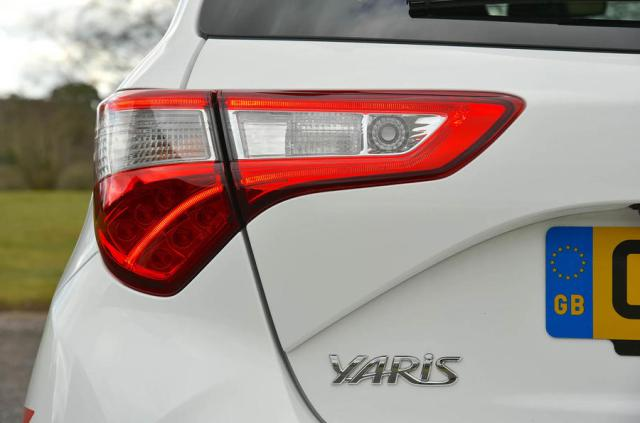 Toyota Yaris GRMN rear lights