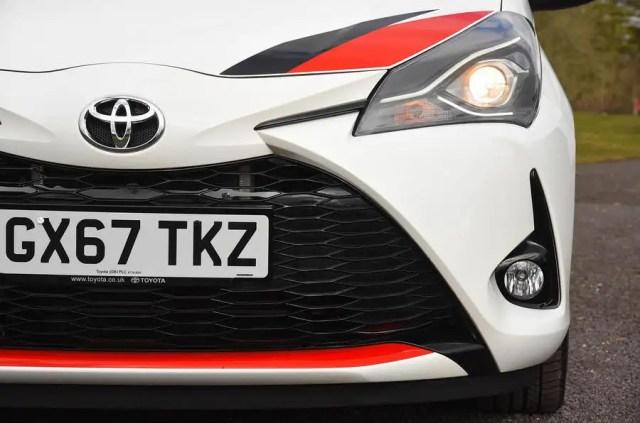Toyota Yaris GRMN front bumper
