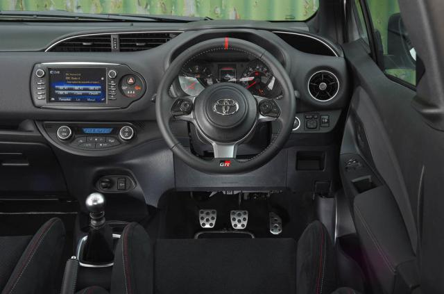 Toyota Yaris GRMN driving position