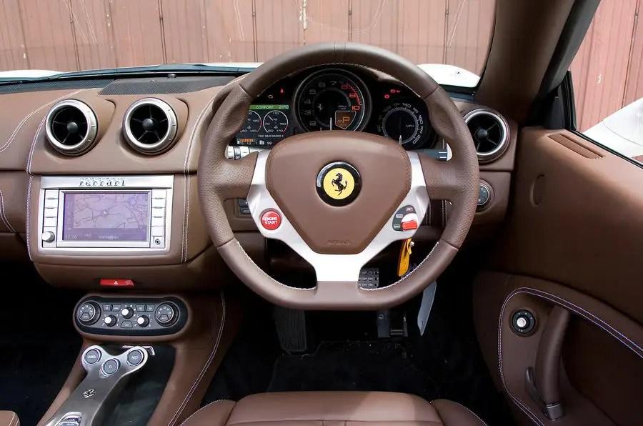 Ferrari California 2008 2014 Interior Autocar