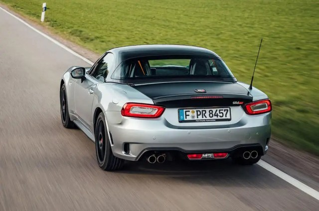 Abarth 124 GT review 2018 hero rear