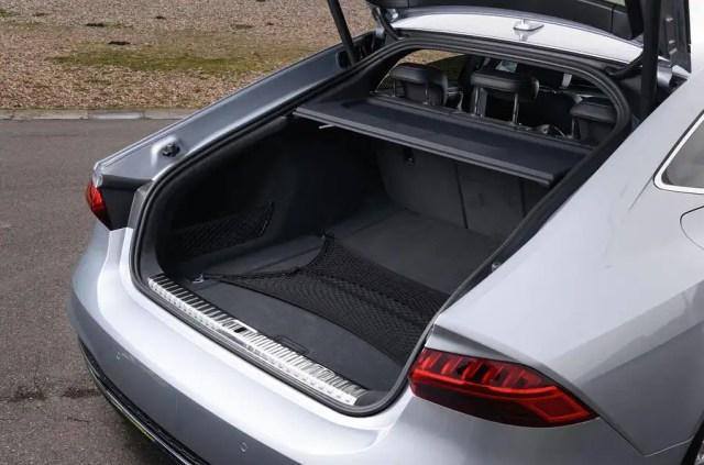 Audi A7 boot
