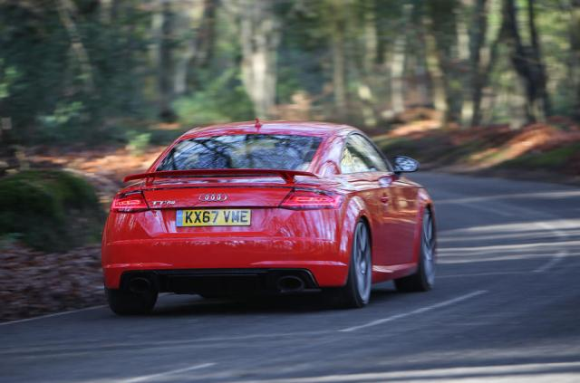 Audi TT RS Coupé rear