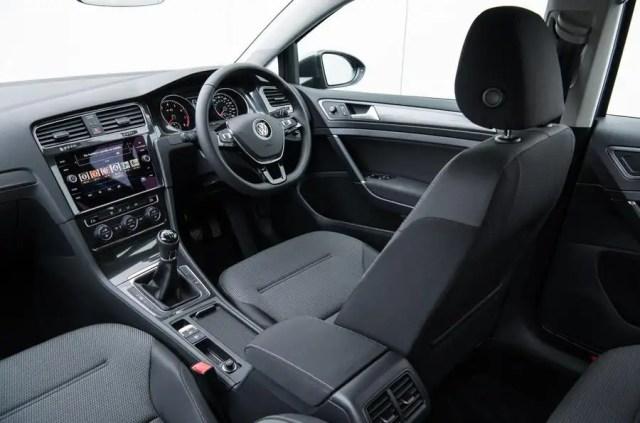 Volkswagen Golf Estate front seat