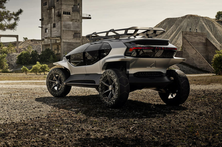Audi Ai Trail Concept Previews Brand S Future Suv Styling