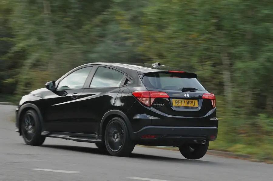Honda HR V Black Edition 2017 Review Autocar