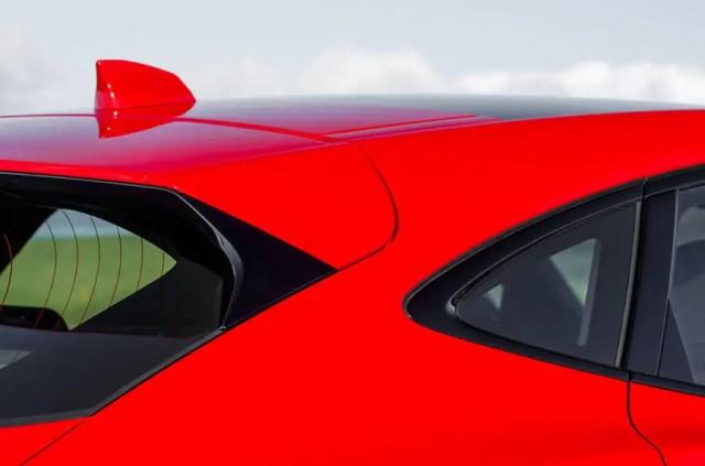 Jaguar E-Pace D180 rear spoiler