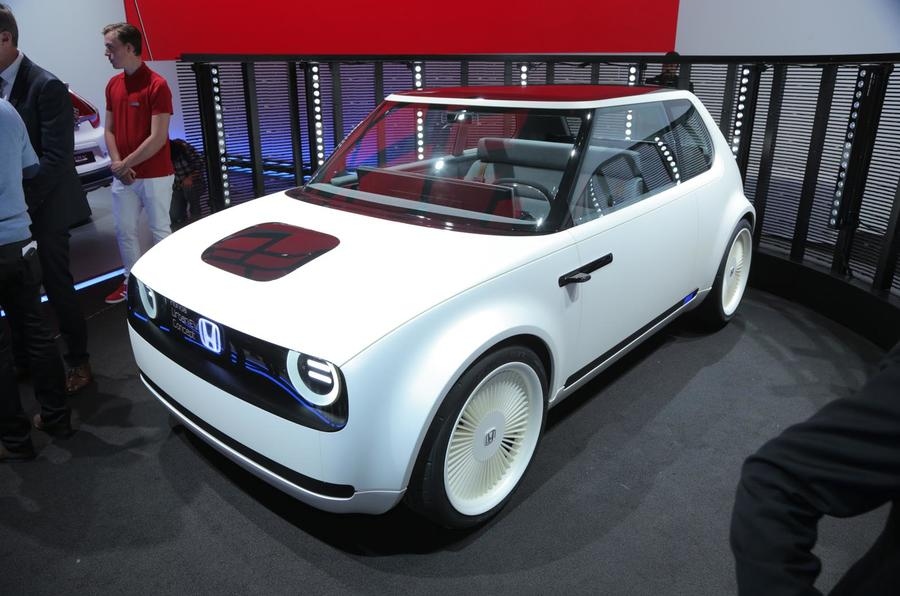 Honda Urban EV Readies For Production In First Spy Shots