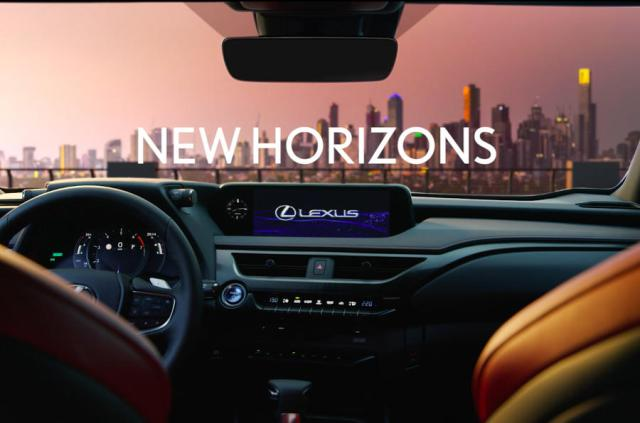 Lexus UX crossover reveal shows aggressive design and new infotainment