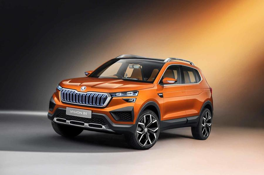 Suvs are the quickest growing segment right now, as car shoppers are shunning away from cars in droves. New Skoda Vision IN is bespoke SUV for Indian market   Autocar