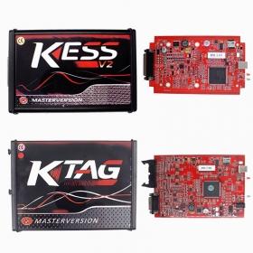 Online EU Red PCB KESS 5.017 KTAG 7.020