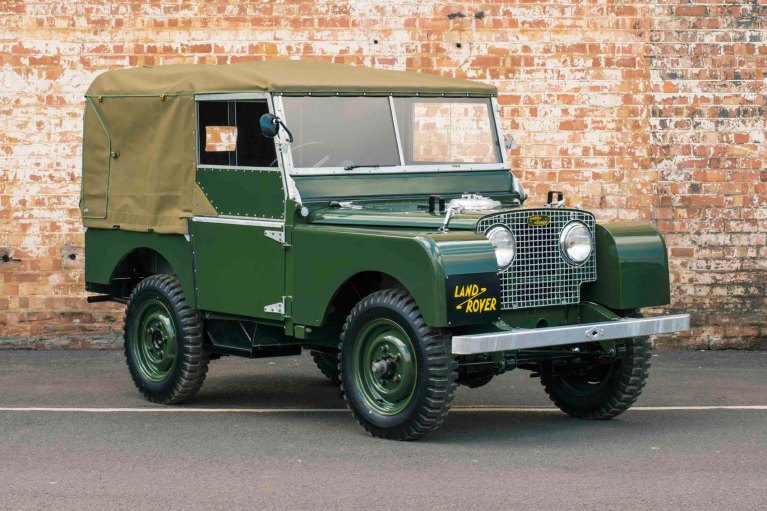 Landrover car history