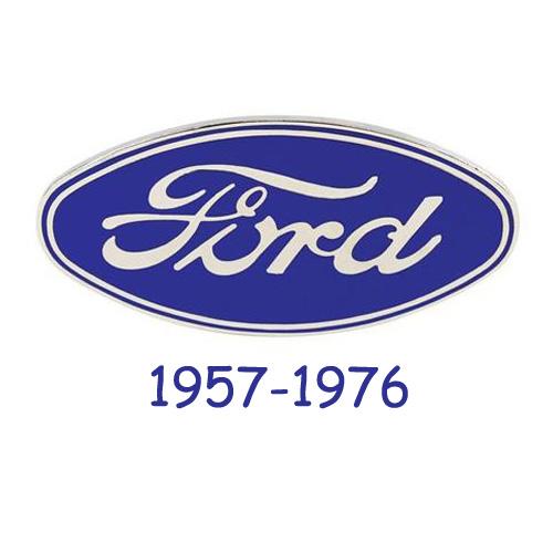 Ford logo 1957-1976