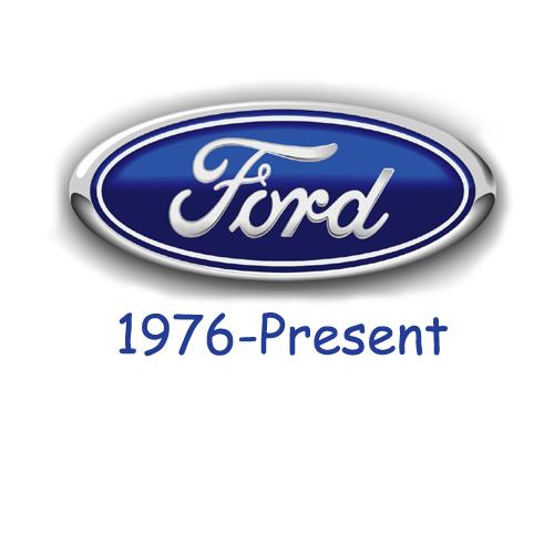 Ford logo 1976-Present