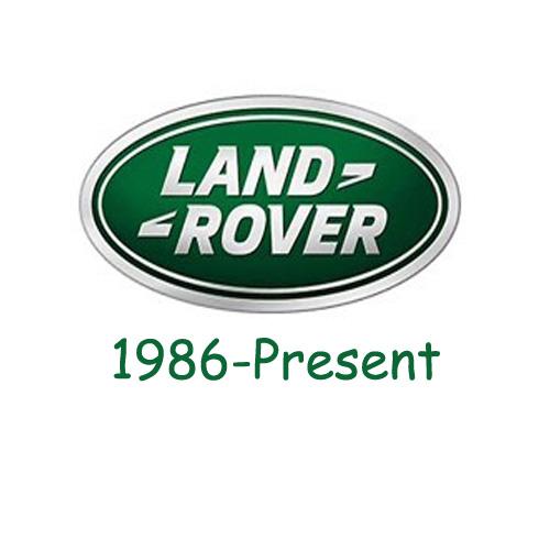 land rover logo 1986-present