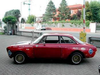 Restauro Alfa Romeo Giulia GTA Mannheim