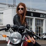 2013 Royal Enfield Continental GT at Ace Cafe London