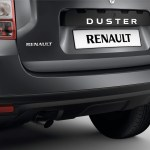 2014 Renault Duster Facelife rear bumper