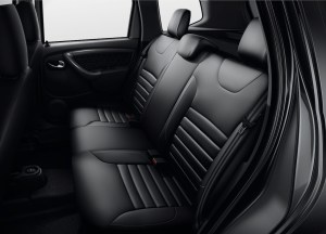 2014 Renault Duster Facelife rear seats