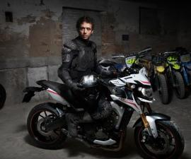 2014 Yamaha MT-09 Street Rally and Valentino Rossi