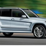 India bound 2016 Mercedes Benz GLK class spotted in Dubai